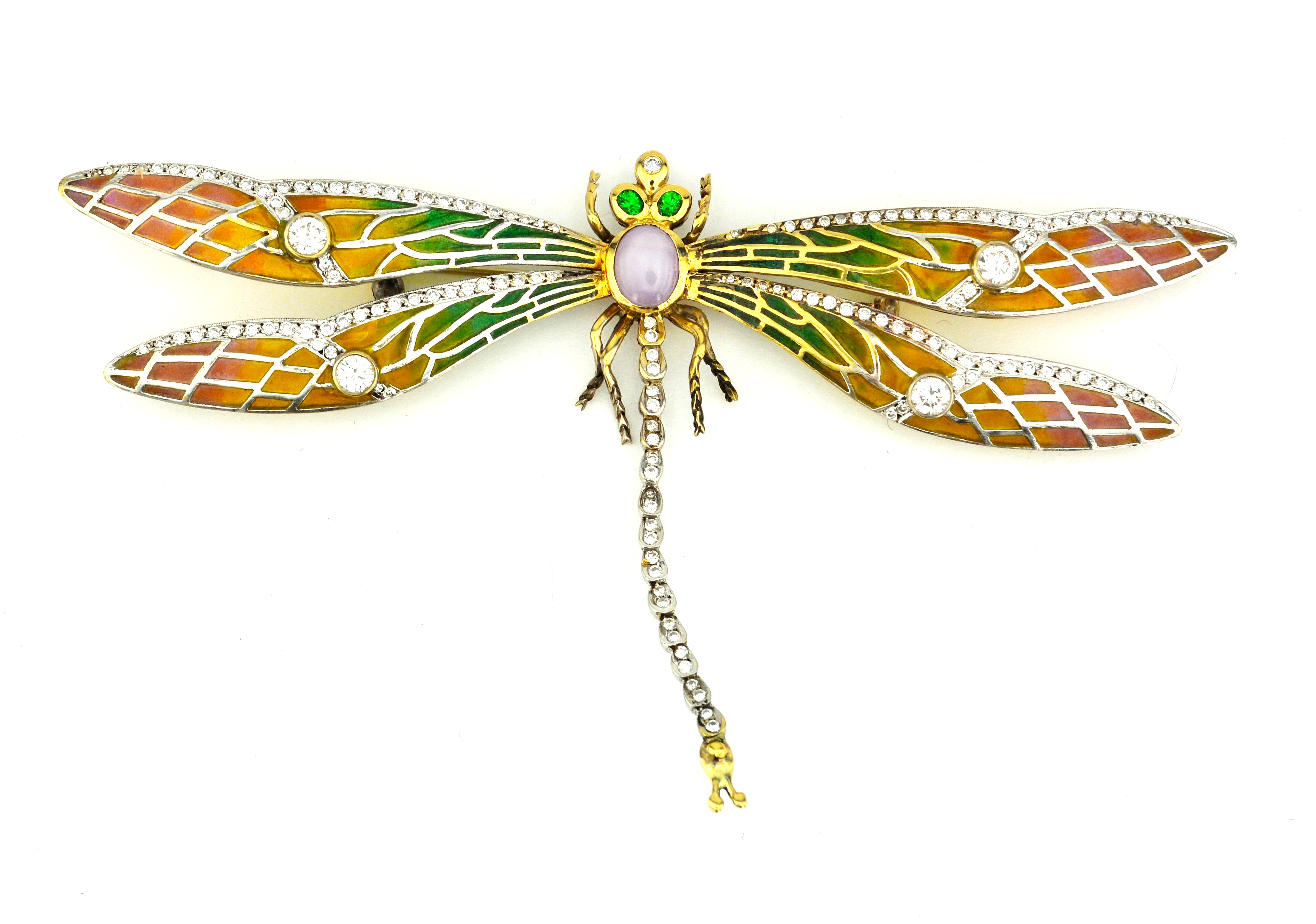 Dazzling Dragonfly Pin